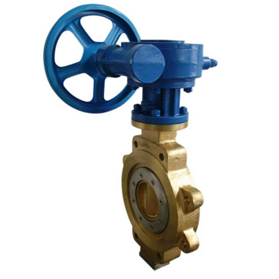 High Performance Bronze Lug Type Three Eccentric Butterfly Valve