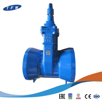 Cast Iron Grooved Gate Valve for PVC Pipe