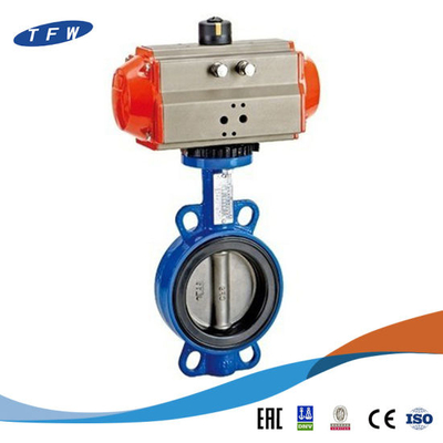 Exhaust Hydraulic Motorised Pneumatic Electric Actuator Butterfly Valves