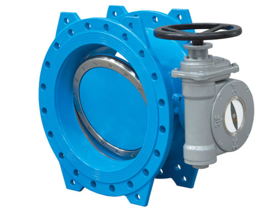 ASME B16.34 Mss Sp-68 Double Flanged Butterfly Valve