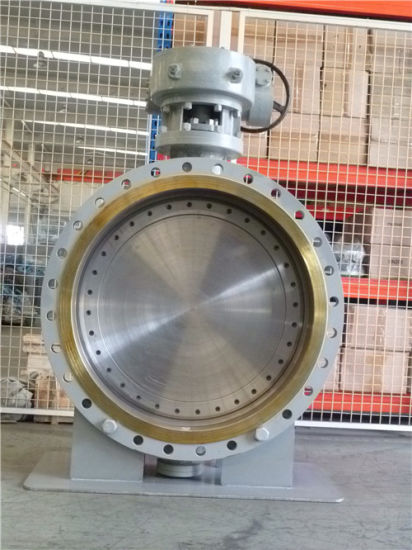 (Triple Eccentric) Metal Seated Flanged Type Butterfly Valve