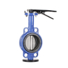 Wafer Butterfly Valve Through Shaft with Pin Ce Approval