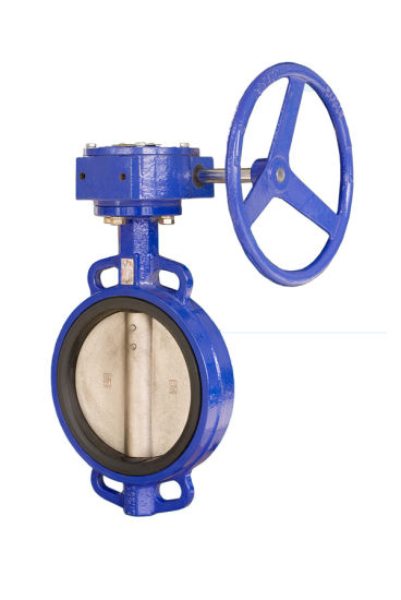 DIN ANSI JIS API Worm Gear Wafer Lt Butterfly Valve Dn200 Good Price Butterfly Valve
