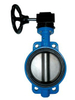 DIN ANSI JIS API Worm Gear Wafer Lt Butterfly Valve Dn150 Good Price Butterfly Valve