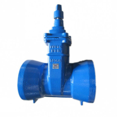 China Factory High Quality Grooved End Gate Valve