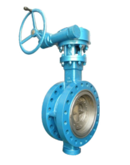 Double Flange Metal Seat Triple Eccentric Butterfly Valve