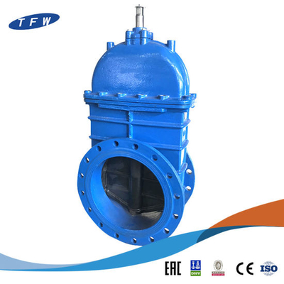 Awwa Ductile Iron Flanged Ends Non Rising Stem Control Water Gate Valve